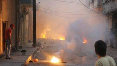 صورة الشبكة السورية توثق الهجمات الروسية في سوريا بأسلحة حارقة