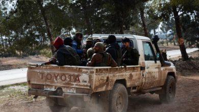 صورة الثوار في درع الفرات يواصلون العملية العسكرية في الباب