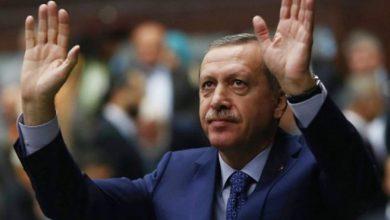 صورة الرئيس التركي يدعو لدعم الجيش السوري الحر خلال زياراته الخليجية