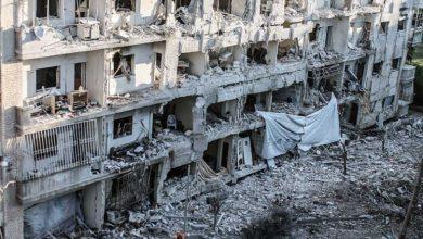 صورة قوات الأسد تحرق حي الوعر الحمصي