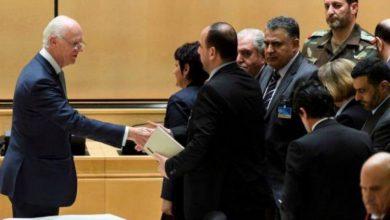 صورة المعارضة تتهم نظام الأسد بمحاولات تعطيل جنيف