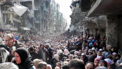 صورة خمسمائة لاجئ فلسطيني على الأقل قتلهم الأسد في معتقلاته