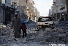 صورة معارك متفرقة وقصف متبادل في ضواحي حلب بين الثوار وقوات الأسد