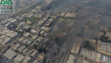 صورة الثوار في دمشق يؤكدون إلتزامهم بالقوانين الدولية الخاصة بالحرب