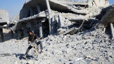 صورة اشتباكات متفرقة بريف حلب وداعش ينسحب من قرى قرب دير حافر