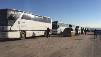 صورة الدفعة الثانية من مهجري الوعر سيخرجون الاثنين باتجاه جرابلس