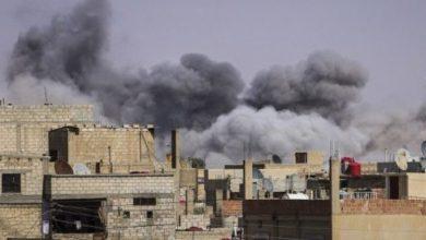 صورة التحالف الدولي يواصل ارتكاب المجازر في الرقة وريفها