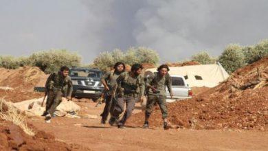 صورة الثوار يتصدون لمليشيات الأسد بريف حماة ويقتلون العشرات منهم