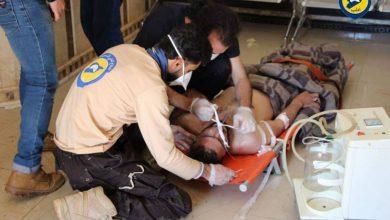 صورة منظمة الصحة العالمية تؤكد استخدام الكيماوي في سوريا من قبل الأسد