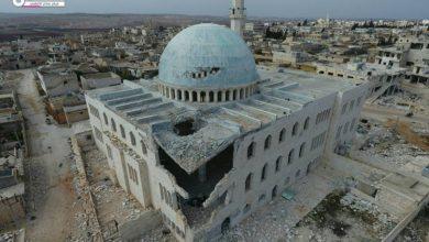 صورة قوات الأسد ومليشيا حزب الله تقصف عندان وبلدات شمال حلب