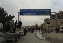 صورة التهجير يصل أحياء دمشق الشرقية