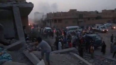 صورة التحالف الدولي يرتكب مجزرة في البوكمال شرق سوريا