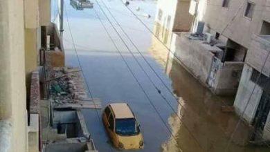 صورة قسد تغرق أحياء الرقة بالمياه الملوثة قبل بدء المعركة