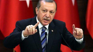 صورة أردوغان يؤكد حق تركيا بالرد على حزب العمال الكردستاني شمال سوريا