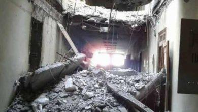 صورة قصف للتحالف الدولي يقتل عشرات المدنيين في الرقة