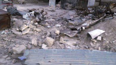 صورة قوات الأسد تحاول التقدم في الغوطة والثوار يتصدون