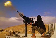 صورة اشتباكات متواصلة بين الثوار وقوات الأسد في البادية السورية