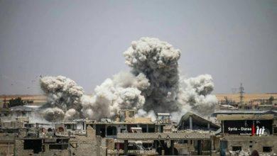 صورة قوات الأسد تواصل استهداف المناطق المحررة في درعا