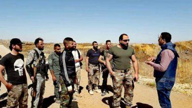 صورة مقتل قائد مليشيا الجولان الموالي للأسد