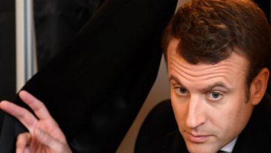 صورة فرنسا بقيادة ماكرون تختار أن تكون مع الأسد القاتل