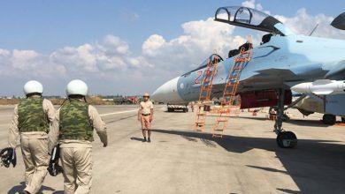 صورة قاعدة عسكرية روسية جديدة في البادية السورية