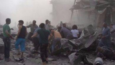 صورة عشرات الشهداء في مجازر دير الزور