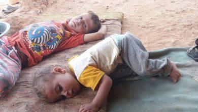 صورة موجة الحر تتسبب بامراض في المخيمات السورية والأطفال ضحيتها