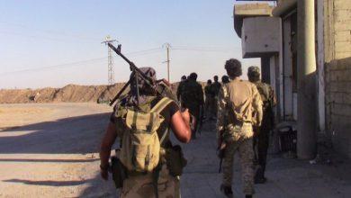 صورة قسد يقتحم أحياء الرقة وقتلى بين طرفي القتال
