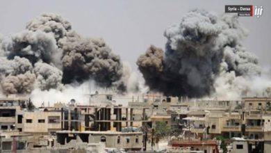 صورة وقف إطلاق النار يبدأ تنفيذه في الجنوب السوري