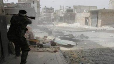 صورة معارك عنيفة في عين ترمة على أطراف دمشق