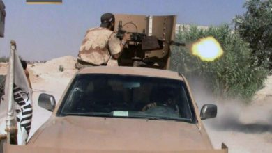 صورة ثوار الغوطة يكبدون قوات الاسد خسائر فادحة في جبهة الريحان