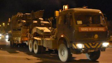 صورة مزيد من التعزيزات العسكرية إلى ولاية كيليس التركية الحدودية
