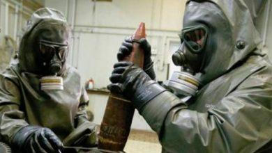 صورة اعتراض أسلحة من كوريا الشمالية كانت في طريقها لنظام الأسد