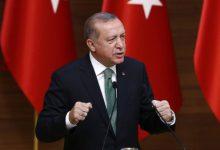 صورة أردوغان يؤكد عدم سماح بلاده بإقامة دويلة لإرهابيي YPG شمال سوريا