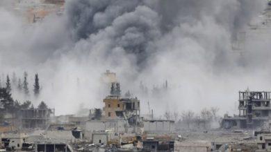 صورة مجازر وتهجير في ريف دير الزور على يد قوات الاسد