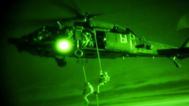 صورة طيران التحالف الدولي يواصل عملية إجلاء رعاياه الدواعش