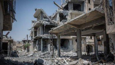 صورة قسد تواصل معاركها ضد داعش في الرقة والوضع الانساني كارثي