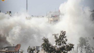 صورة محاولات متكررة وفاشلة من قوات الاسد لاقتحام جوبر الدمشقي