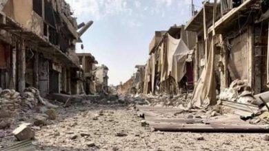 صورة تقدم جديد لميليشيات قسد على حساب داعش في الرقة