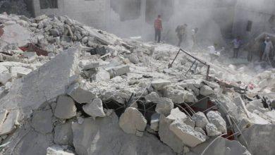 صورة الروسي يواصل القصف ويسقط عشرات المدنيين في ادلب وريف حلب