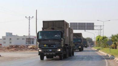 صورة الجيش التركي يرسل تعزيزات إضافية لوحداته قرب الحدود السورية