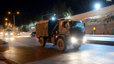 صورة تركيا تواصل إرسال تعزيزات عسكرية إلى حدودها مع سوريا