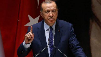 صورة أردوغان يؤكد أحقية دخول الجيش التركي إلى إدلب