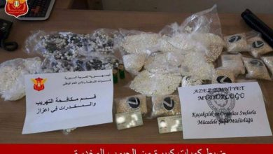 صورة قوات الأمن الوطني تعتقل اثنين من تجار المخدرات في اعزاز