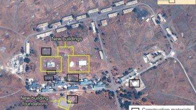 صورة قاعدة عسكرية ضخمة أنشـاتها إيران غرب دمشق