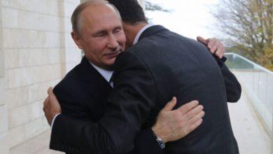 صورة قناة اسرائيلية: بوتين ابلغ بشار بأنه آخر رئيس علوي لسوريا