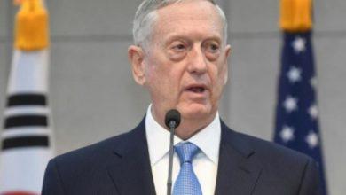 """صورة وزير الدفاع الأمريكي: ب ي د سوف تتحول لقوات """"شرطة"""" شمالي سوريا"""