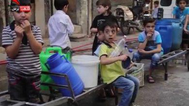 صورة صحة حلب الحرة: 145 حالة تسمم سببها تلوث مياه شرب خان العسل