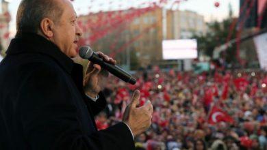 صورة أردوغان: سنطهر عفرين ومنبج وتل أبيض ورأس العين والقامشلي من الإرهابيين