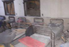 صورة جرحى جراء استهداف ميليشيات قسد لمستشفى في اعزاز شمال حلب